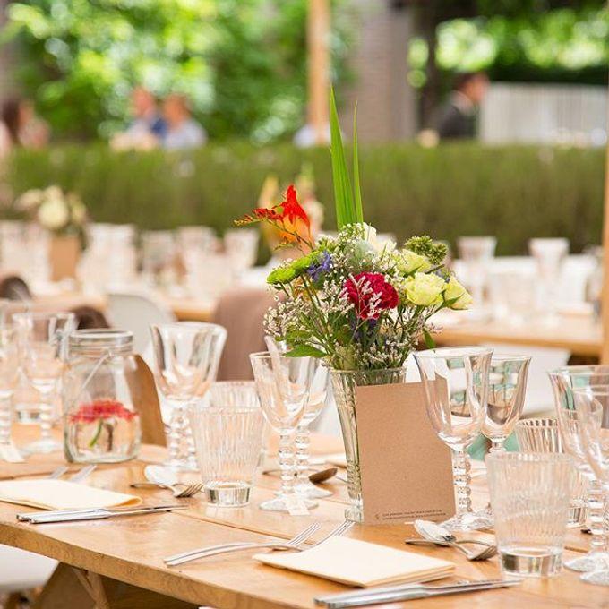 Garden Wedding by Elegant Events - 007