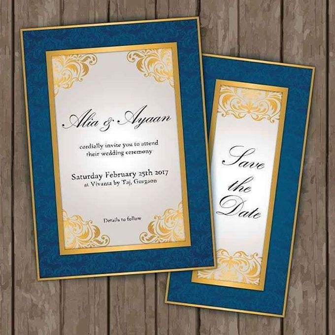 """save the date graphic by Studio 461 - """"Save the date"""" Video Invitation - 003"""