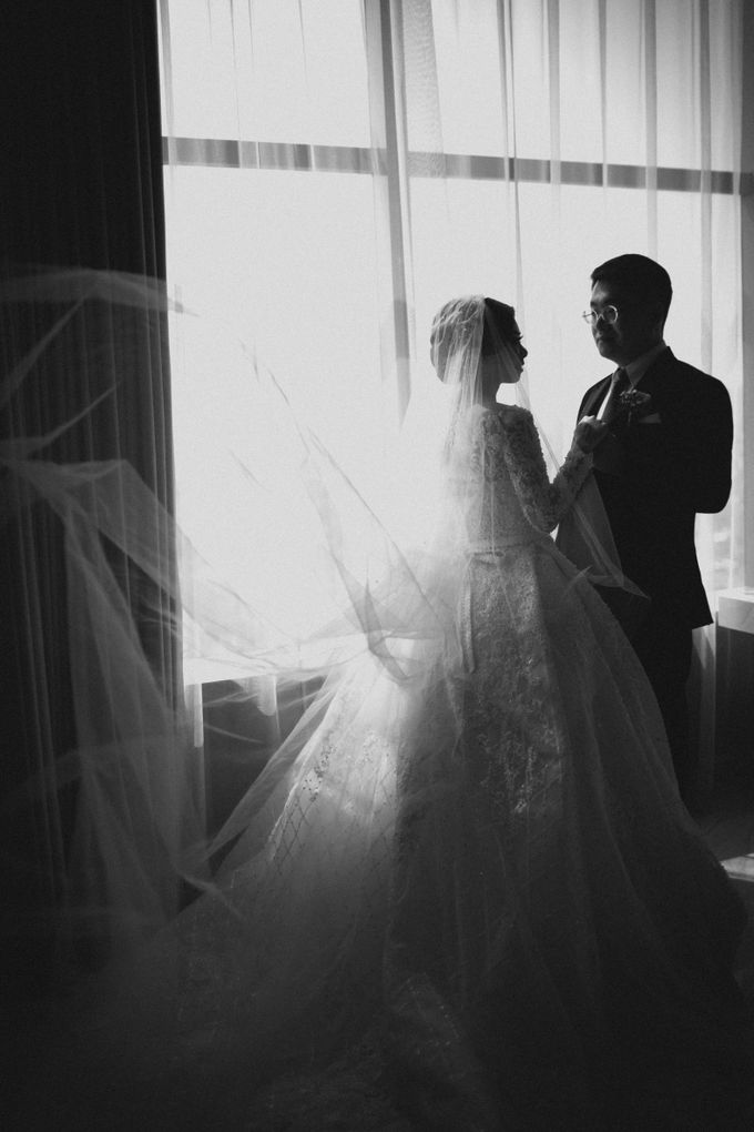 Grandeur Wedding of Johan & Catherine 30th June 2019 by Atham Tailor - 004