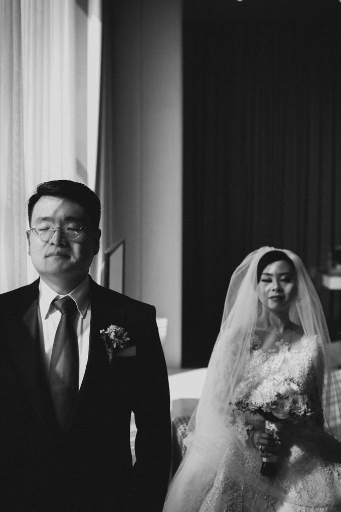 Grandeur Wedding of Johan & Catherine 30th June 2019 by Atham Tailor - 007