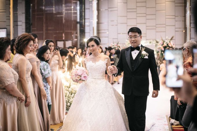 Grandeur Wedding of Johan & Catherine 30th June 2019 by Atham Tailor - 010