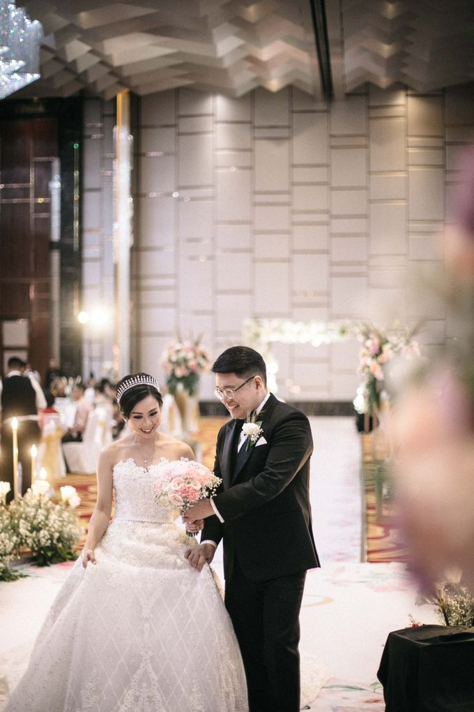 Grandeur Wedding of Johan & Catherine 30th June 2019 by Atham Tailor - 011