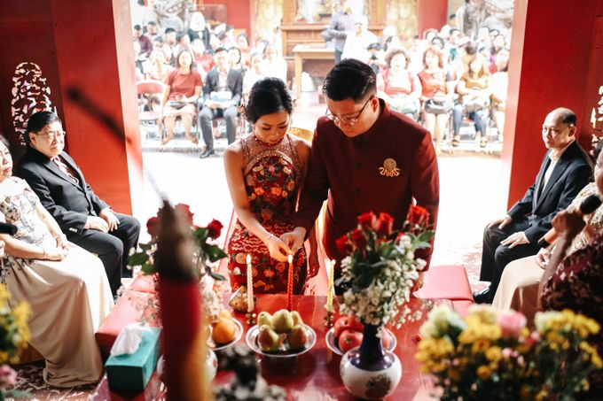 Holy Matrimony of Johan & Catherine 280619 at Vihara Avalokita by AS2 Wedding Organizer - 014