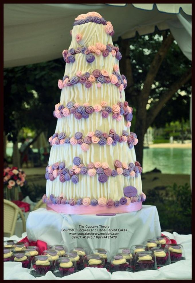 Wedding Cakes by The Cupcake Theory - 006