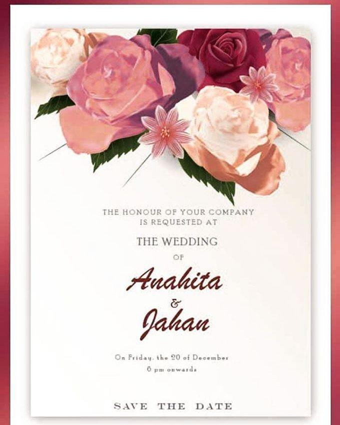 """save the date graphic by Studio 461 - """"Save the date"""" Video Invitation - 001"""