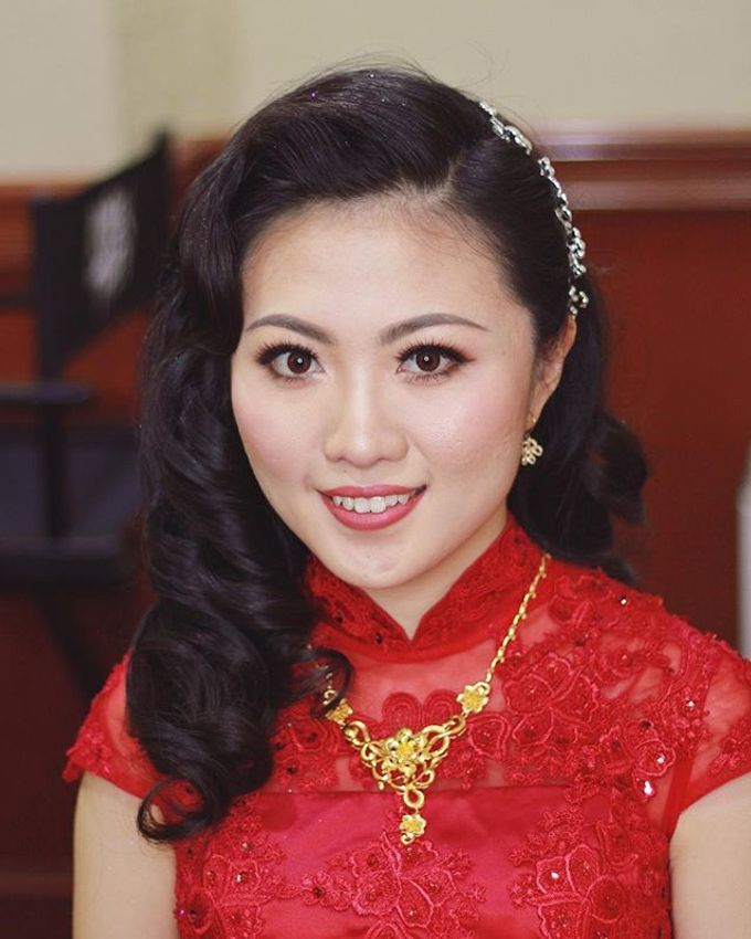 Bridal Services by Karen Then Makeup and Hair Styling - 006