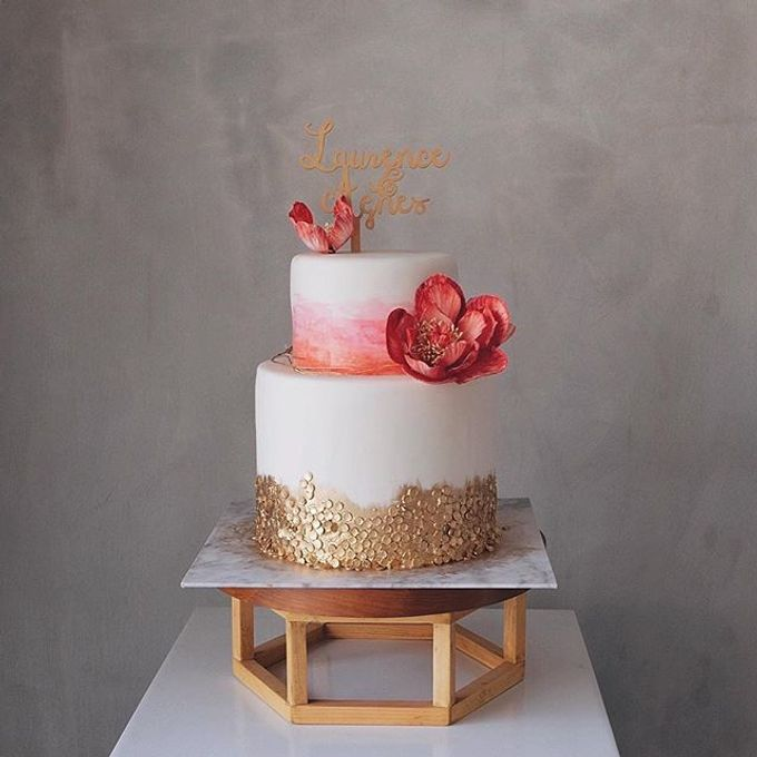 Add To Board 2016 2017 Wedding Cakes Sweet 17 Cake By WoodLove