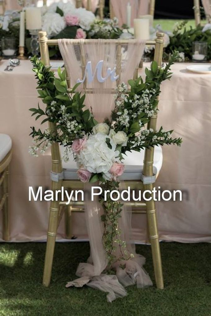Outdoor Wedding Dinner Reception At Ayana Villa by Marlyn Production - 003