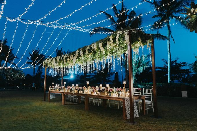 BBQ and Fairy Lights by DIJON BALI CATERING - 001