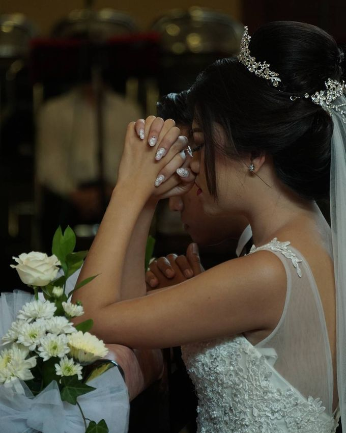 Pemberkatan Ira & Patrick by Gasim Wedding Organizer - 004