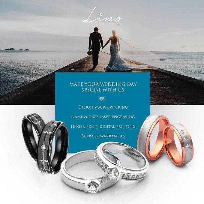 WEDDING RING by Lino and Sons - 041