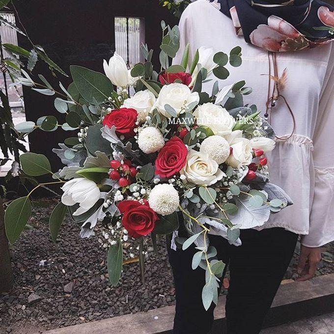 Fresh Wedding Bouquet by Maxwell Flowers - 001