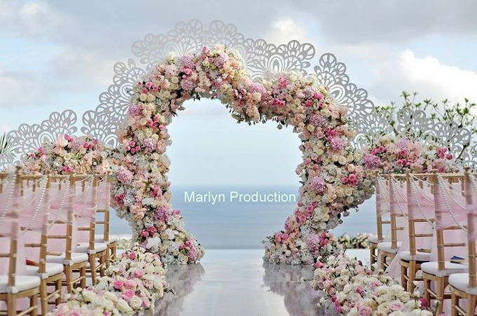 Love Is Pink For Bvlgari Wedding by Marlyn Production - 005
