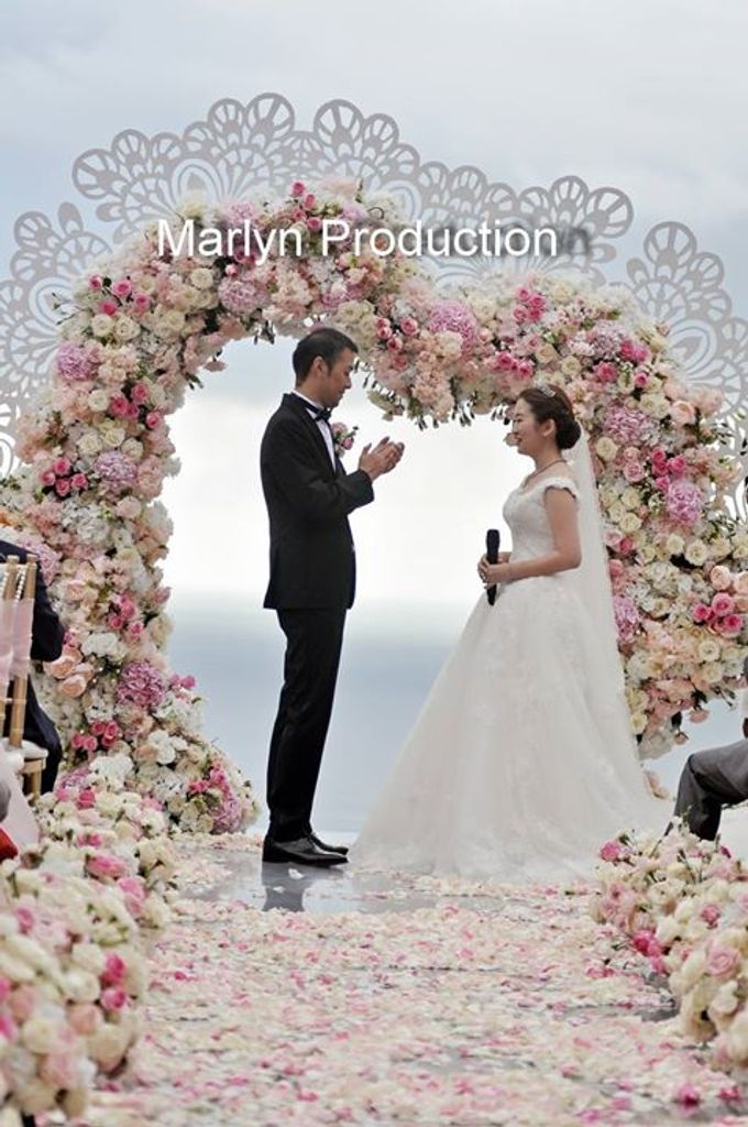 Love Is Pink For Bvlgari Wedding by Marlyn Production - 011