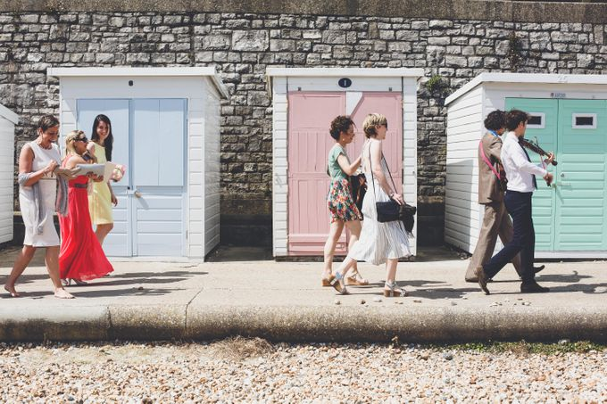 Clare and Ben's Marine Theatre wedding, Lyme Regis by Andrew George Photography - 020