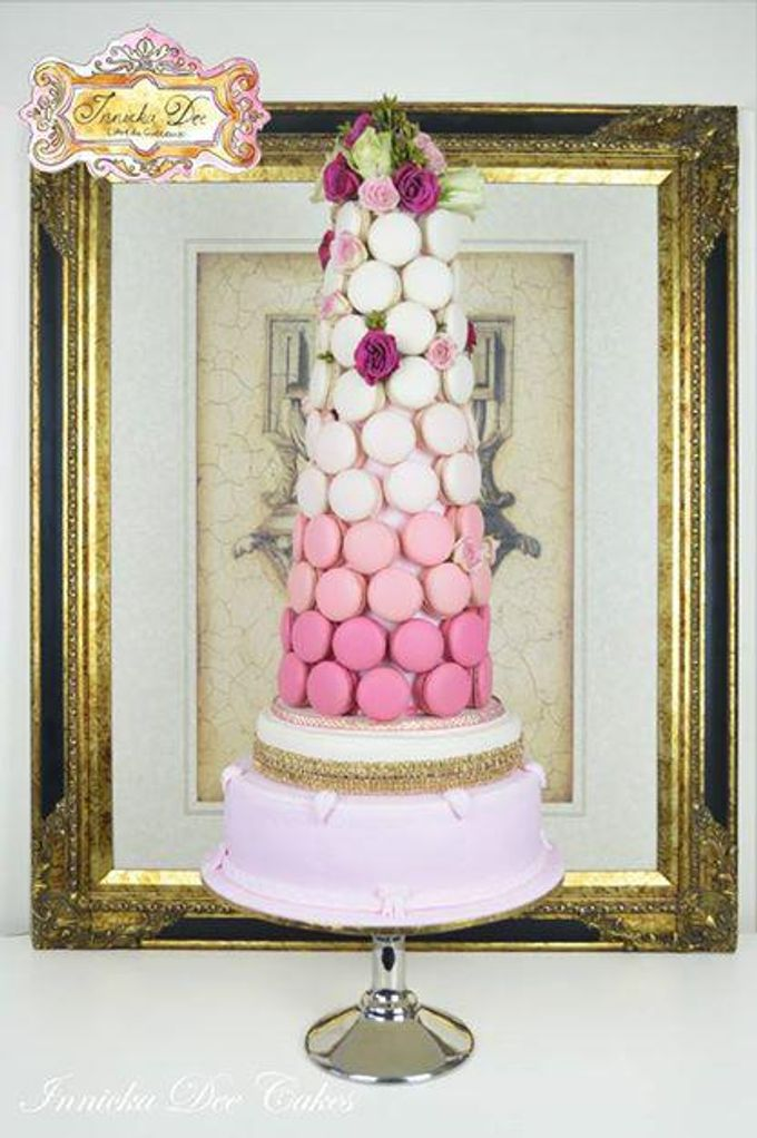 Wedding Cakes by Innicka Dee Cakes - 025