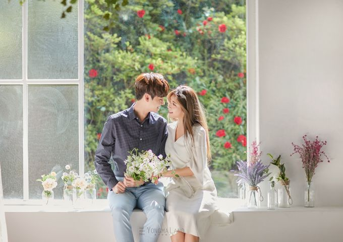 Korea Pre-Wedding Photoshoot - Studio 29 by Willcy Wedding by Willcy Wedding - Korea Pre Wedding - 011