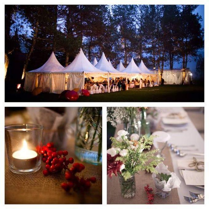 a Forest Wedding by Bozza Event Organizer - 015