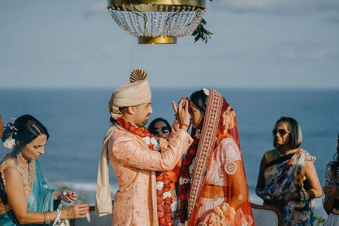 Nagisa Bali Wedding for Neel & Davina by Nagisa Bali - 021