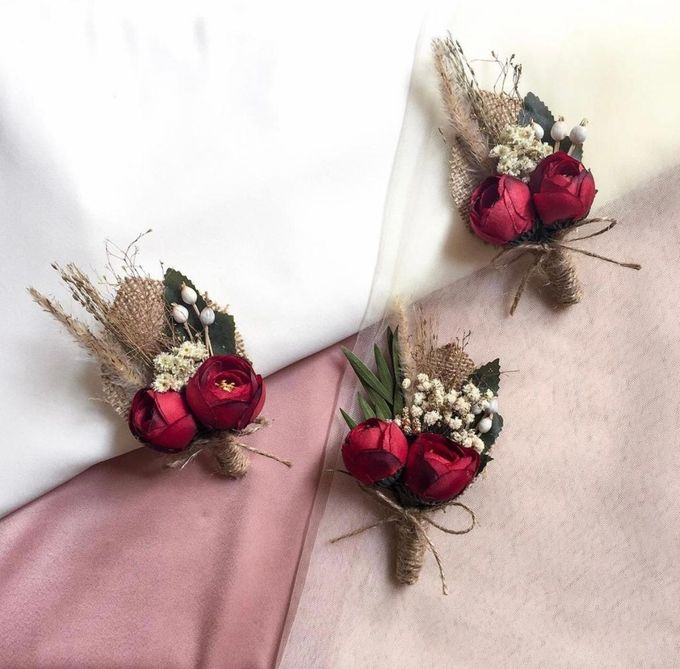Boutonniere & Corsage by Rose For You - 021