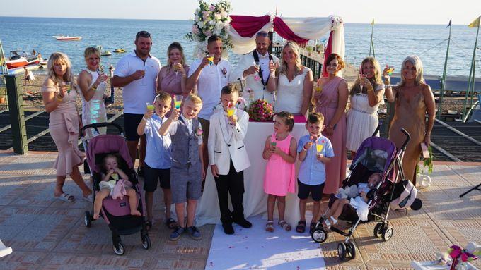 Wedding by the sea in Antalya -Lucy & Daniel- by Wedding City Antalya - 020