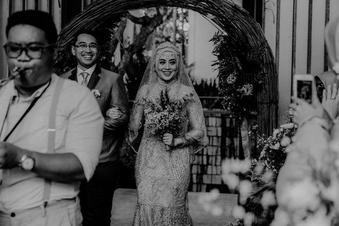 Dheafina & Nur Wedding at Azila Villa by AKSA Creative - 021