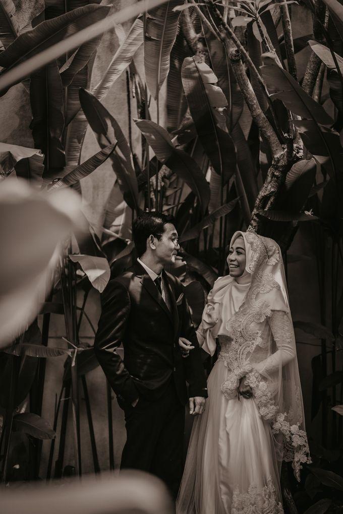 Aisyah & Aziz Wedding at Azila Villa by AKSA Creative - 001