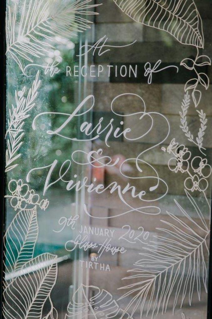 The Wedding of Larrie & Vivienne by BDD Weddings Indonesia - 021