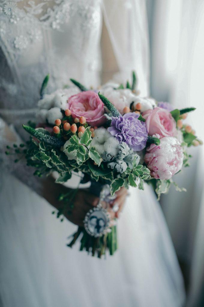 Tomas & Asti Jakarta Wedding by Ian Vins - 011