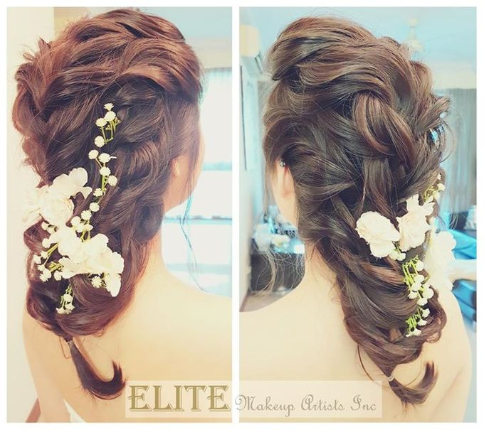 Bridal Hair By Elitemakeupartistsinc by elitemakeupartistsinc - 003