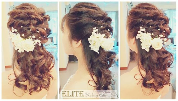 Bridal Hair By Elitemakeupartistsinc by elitemakeupartistsinc - 002