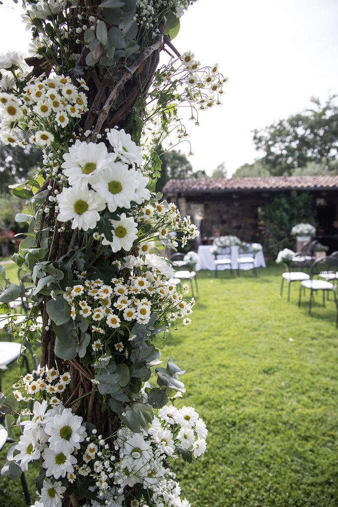 Wedding in Le Case Gialle Melizzano BN by Visual Wedding Art - 003