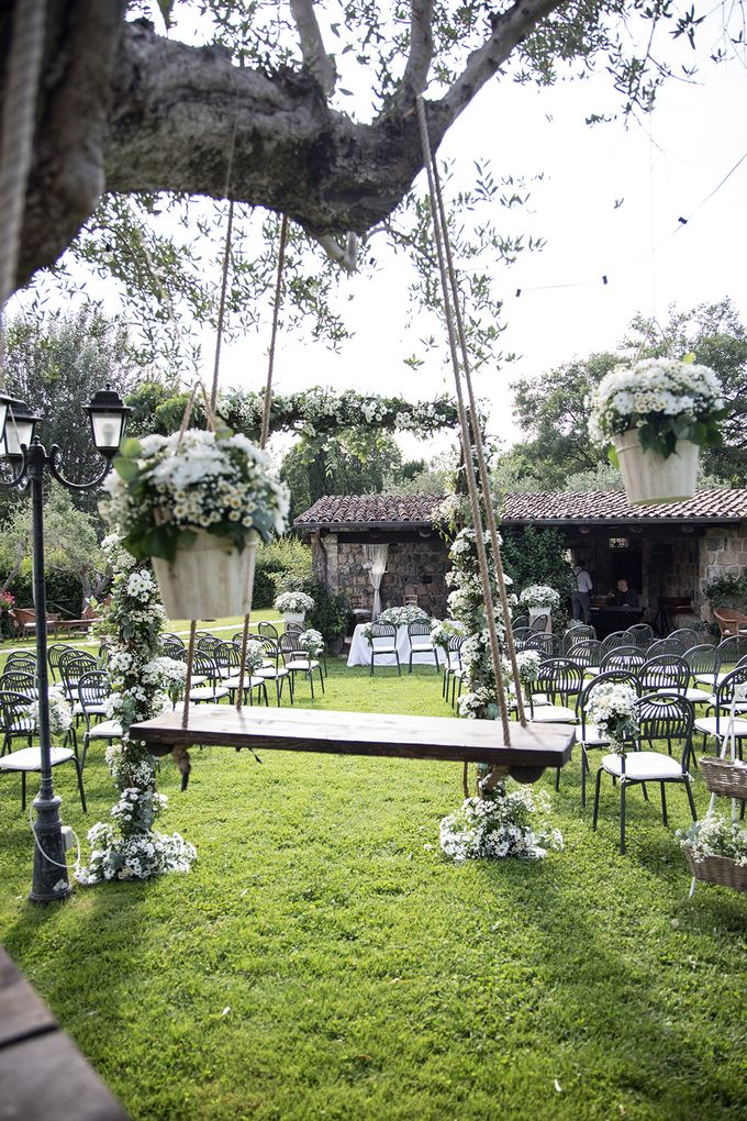 Wedding in Le Case Gialle Melizzano BN by Visual Wedding Art - 004