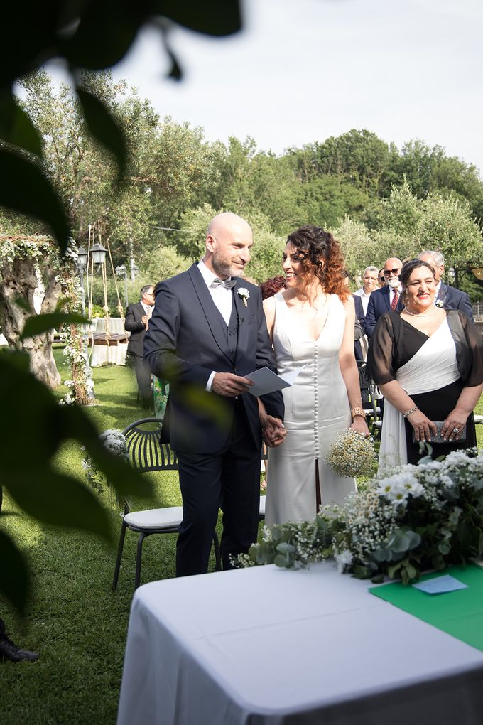 Wedding in Le Case Gialle Melizzano BN by Visual Wedding Art - 006