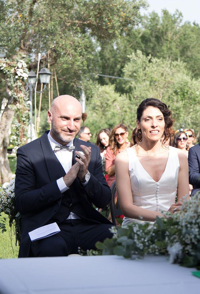 Wedding in Le Case Gialle Melizzano BN by Visual Wedding Art - 008