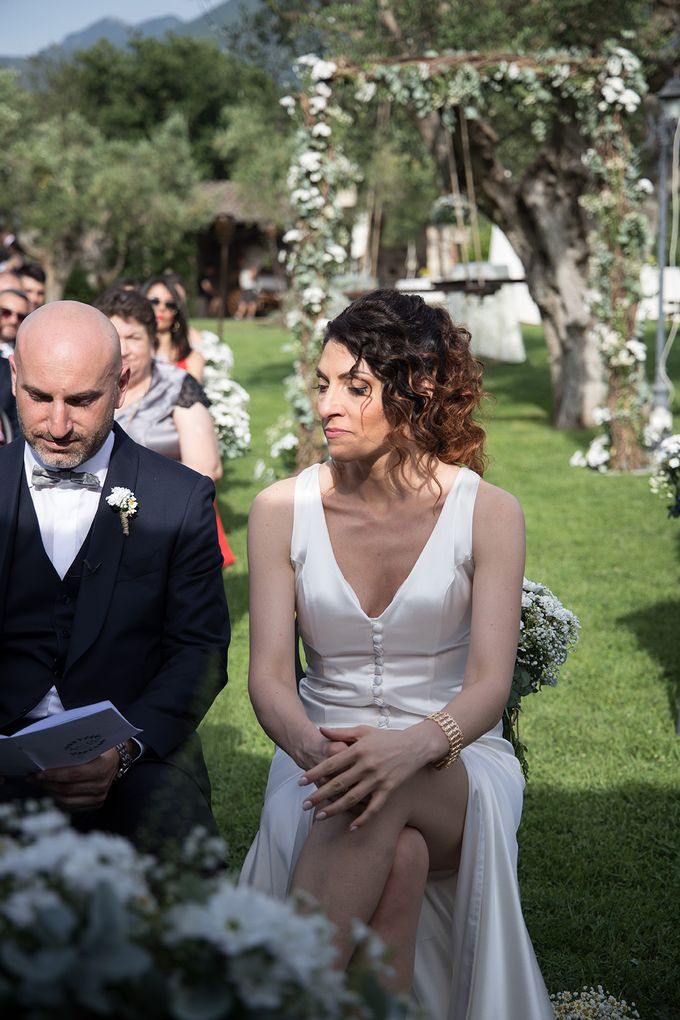 Wedding in Le Case Gialle Melizzano BN by Visual Wedding Art - 010