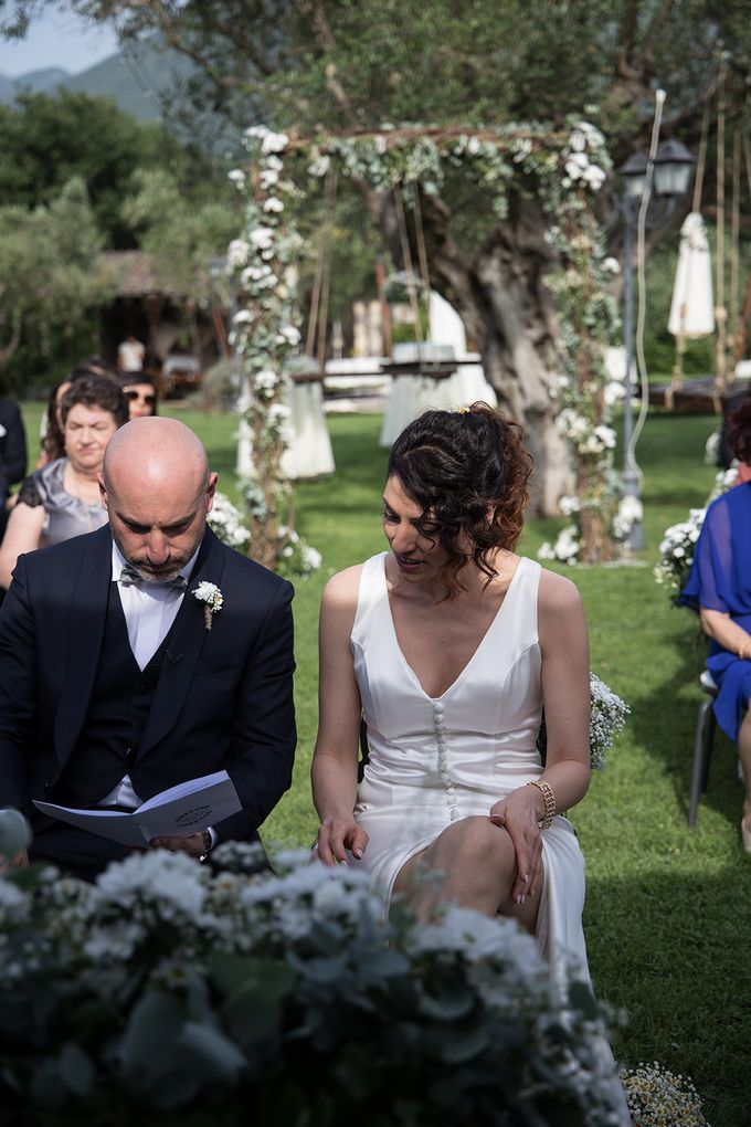 Wedding in Le Case Gialle Melizzano BN by Visual Wedding Art - 011