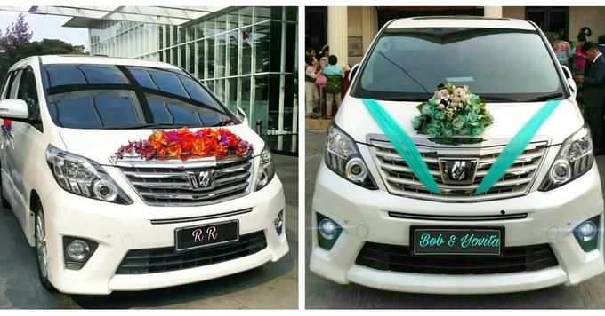 The Wedding of Ryan & Rilia  Coral and Magenta theme ---  The Wedding of Bob & Yovita  Mint Green and Soft Blue theme by Priority Rent car - 001
