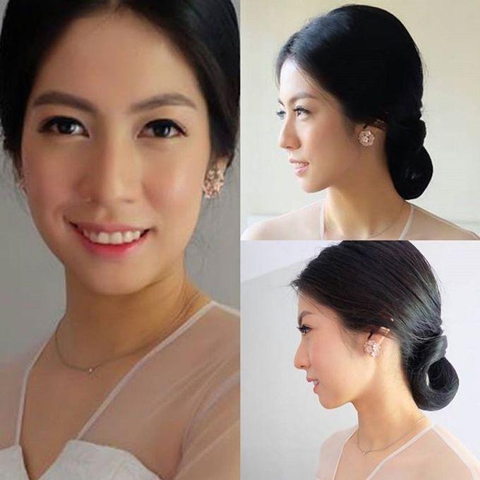 Natural MAKE UP For BRIDE by Marsia Yulia Signature. Natural and Korean Make Up Specialist. - 004