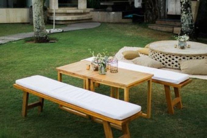 Khayangan Estate - Alfresco Cliff Edge Dining by Flora Botanica Designs - 009