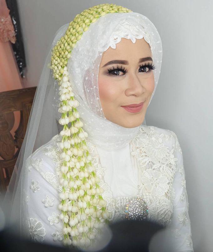 international wedding hijab by White Make Up and Hair Do - 008