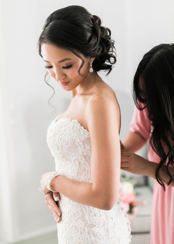 Dusty Pink Dream Wedding in Santorini by Stella & Moscha Weddings - 011