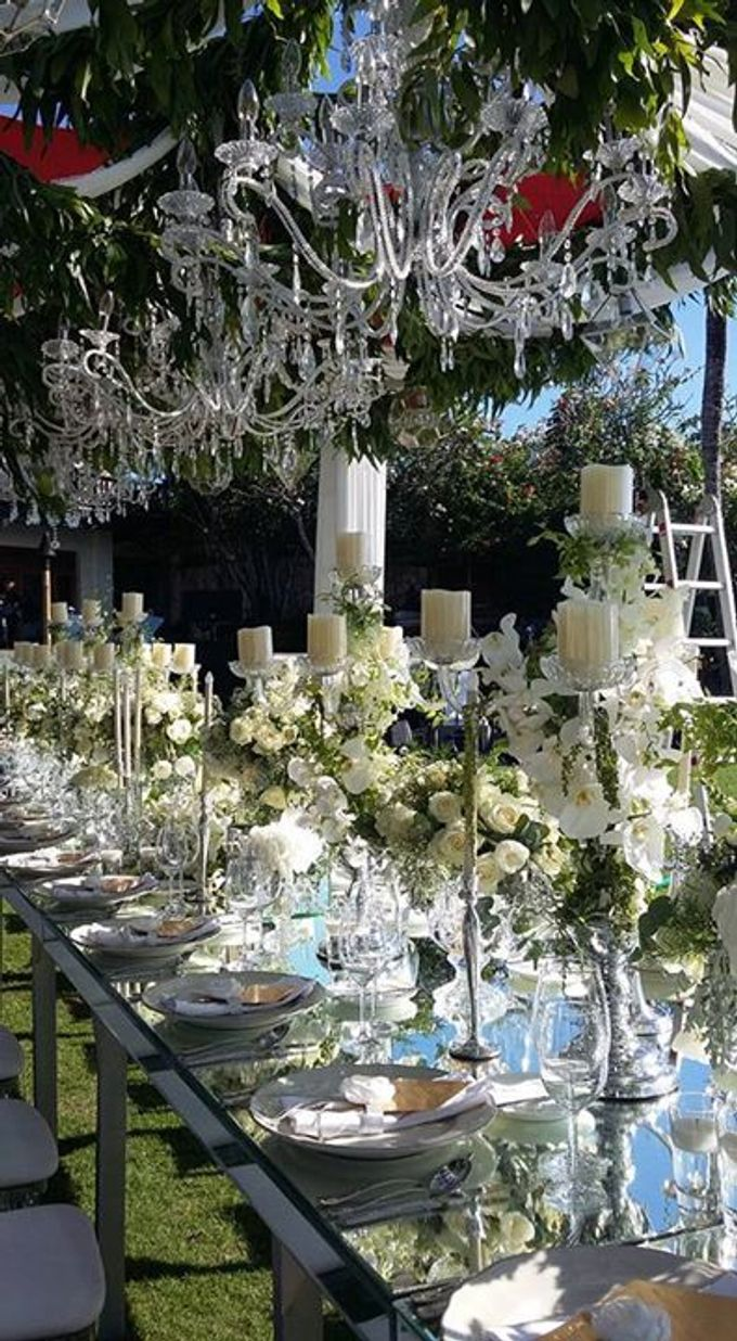 White Wedding At Ayana Villa bali by Marlyn Production - 005