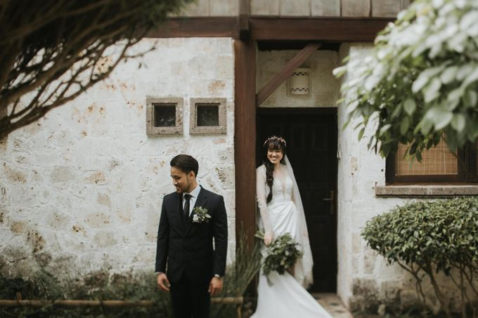 Bali  Wedding - Tania & Rey by ILUMINEN - 008