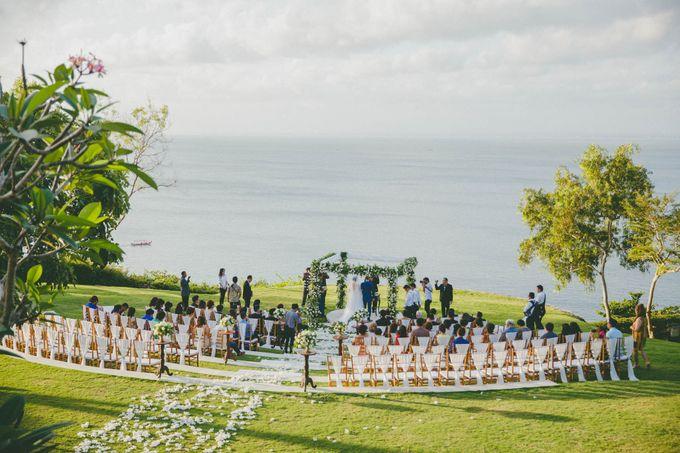 RUSTIC WEDDING DAVID AND JOICE IN SKY AYANA BALI by W organizer - 035