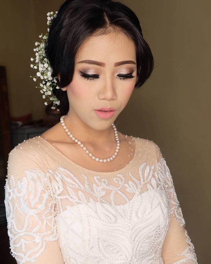international wedding hijab by White Make Up and Hair Do - 006
