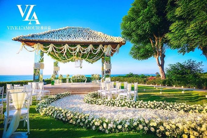 White Wedding At Ayana Villa bali by Marlyn Production - 014
