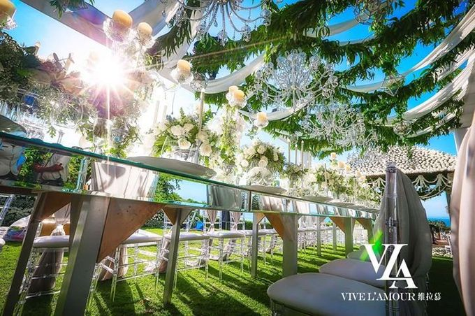 White Wedding At Ayana Villa bali by Marlyn Production - 009