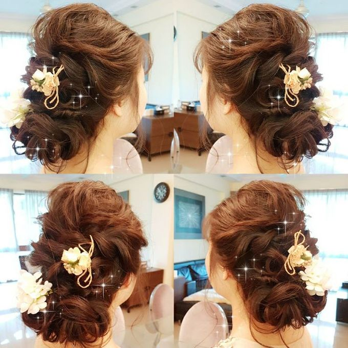 Bridal Hair By Elitemakeupartistsinc by elitemakeupartistsinc - 005