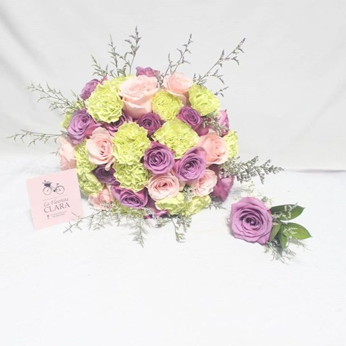 Hand bouquet by La Fleuriste Clara - 002